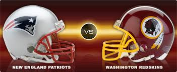Patriots vs Redskins