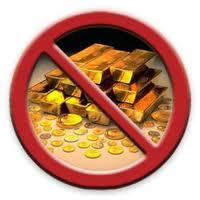 no gold
